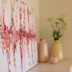 fotografia interiores decoracion cuadro abstracto arte marbella detalle decoracion