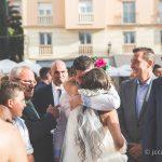 Momento emotivo en la boda puro sentimiento