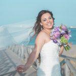 preciosa fotografia de novia en su reportaje